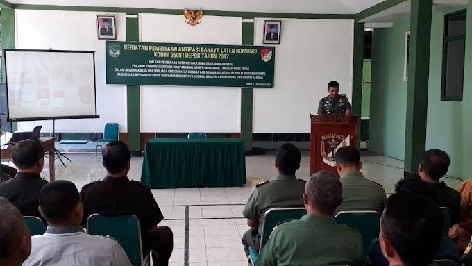 Kodim 0508/Depok Sosialisasikan Balatkom dan Faham Radikal