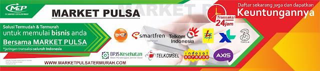 Market Pulsa, Distributor Pulsa Paling Murah Kota Bekasi