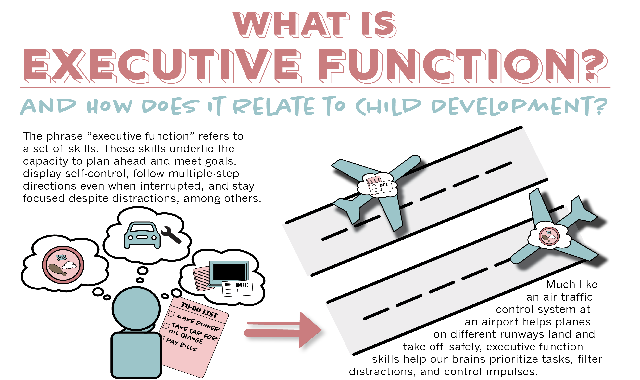What Is Executive Function? And How Does It Relate to Child Development? #infographic
