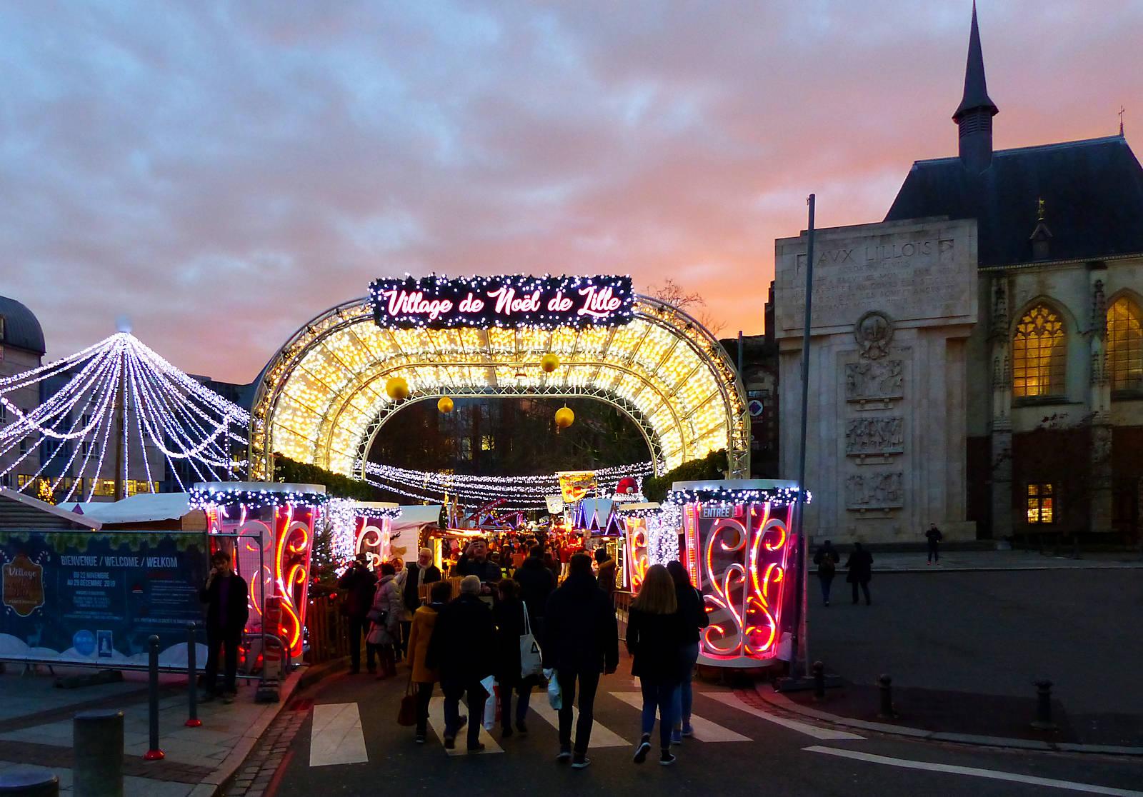 Village de Noël - Lille centre 2019