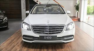 Thiết kế đầu xe Mercedes S450 L