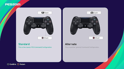 PES 2021/PES 2020 PS4 Controller Layout AIO by SoulBallZ (4K Support)