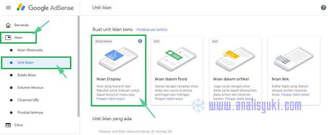 Cara Menampilkan Iklan Link Teks pada Akun AdSense Blogger Terbaru 2019