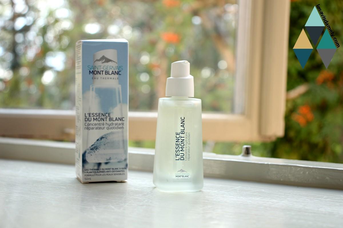 avis et test beauté sérum hydratant essence mont blanc concentré saint gervais