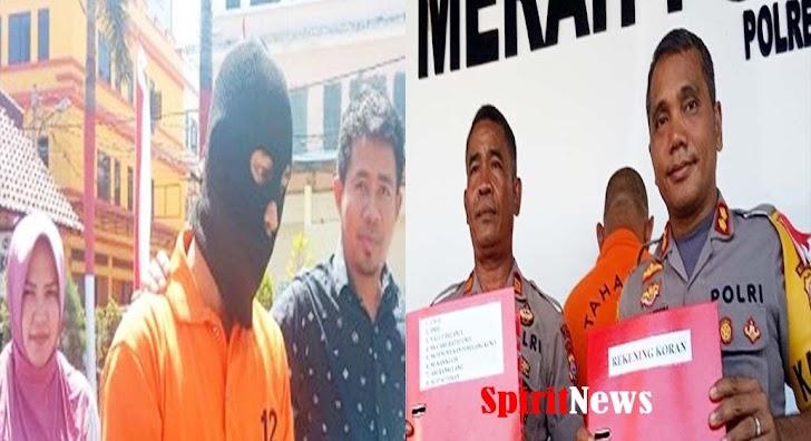 Polres Gowa, Tangkap Kepala Unit BRI Malakaji Dengan Kasus Penggelapan Uang Nasabah
