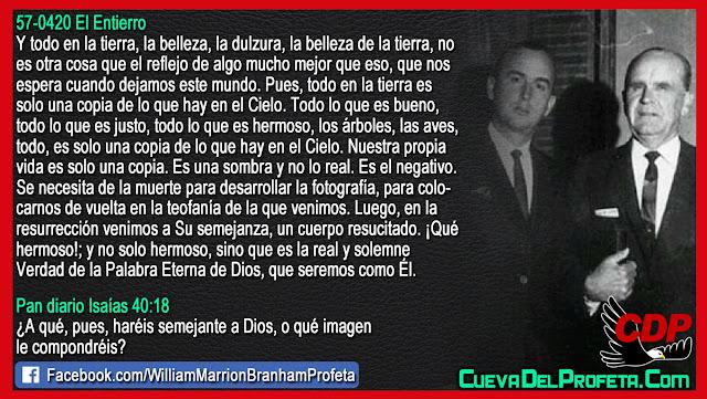 Se necesita de la muerte - William Branham en Español