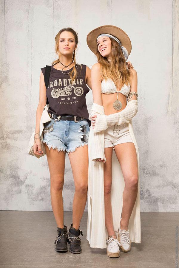 Looks de moda estilo juvenil y urbano verano 2017. Moda 2017.