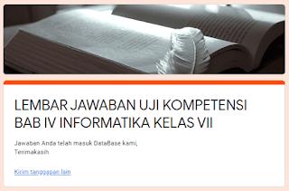 Petunjuk Ulangan Online