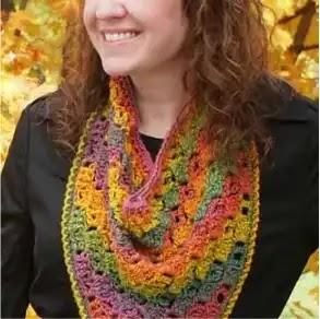 Bandana Cowl a Crochet