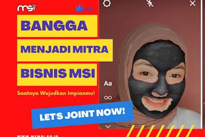 Bingkai Bangga Menjadi Mitra Bisnis MSI untuk Foto Profil WA, Facebook dan IG 2021