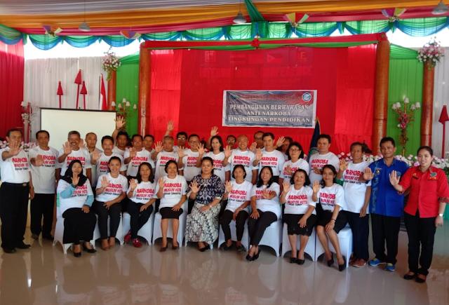 Tingkatkan Komitmen Sinergitas, BNNK Tana Toraja Hadirkan Institusi Pendidikan