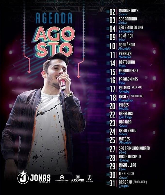 Agenda de Jonas Esticado  - Agosto 2019