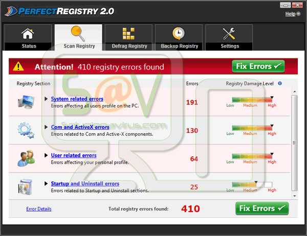 PerfectRegistry (Falso optimizador)