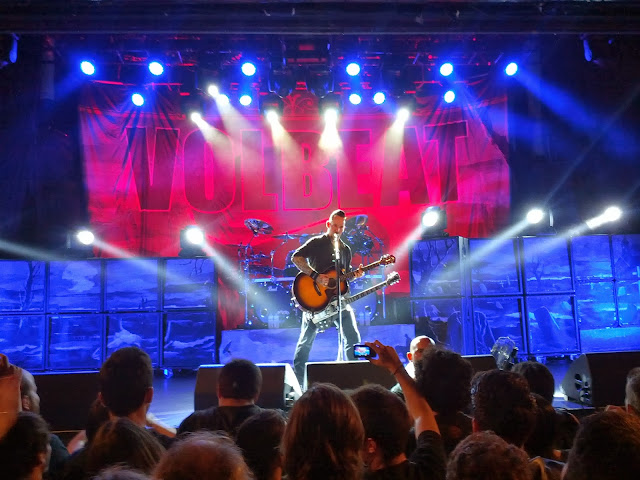 Volbeat en Madrid (La Riviera)