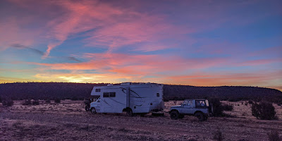 Boondocking again near Truth or Consequences