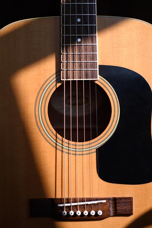 Jameson Thinline Acoustic-Electric Guitar