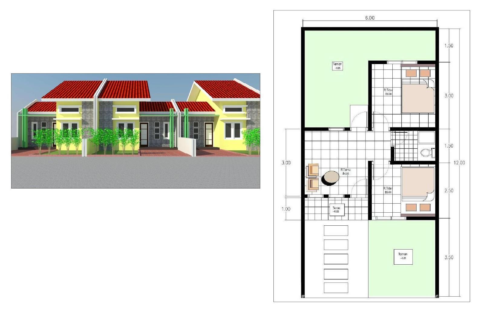 Desain Rumah Tipe 30 Jasa Desain Gambar Rumah Minimalis