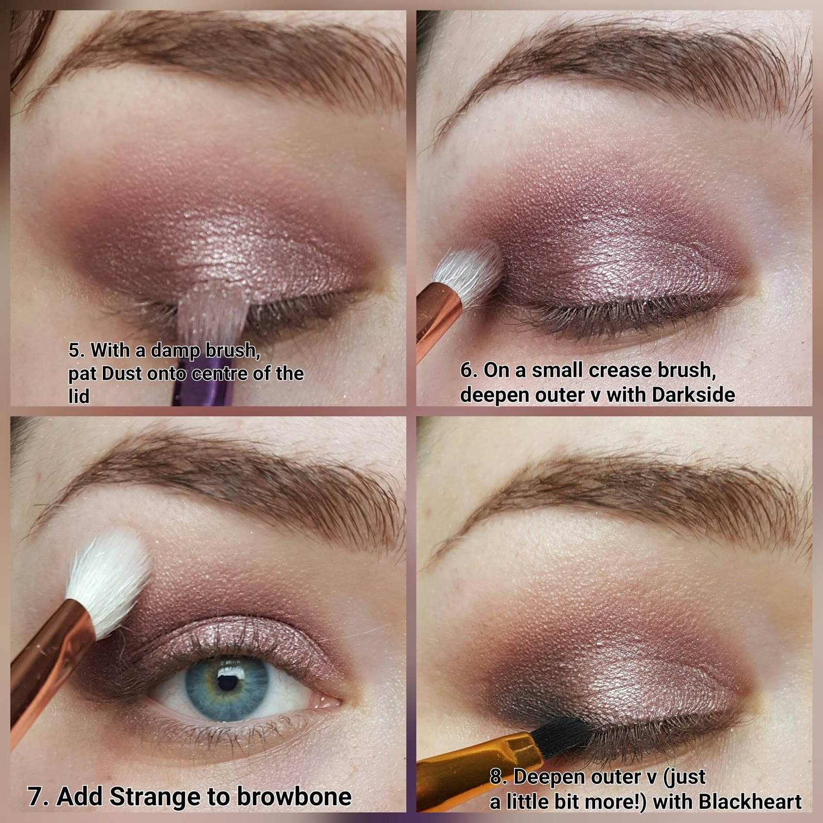 The Naked Series Rosy Smoky Eye Ft Urban Decay Naked 3 -1181