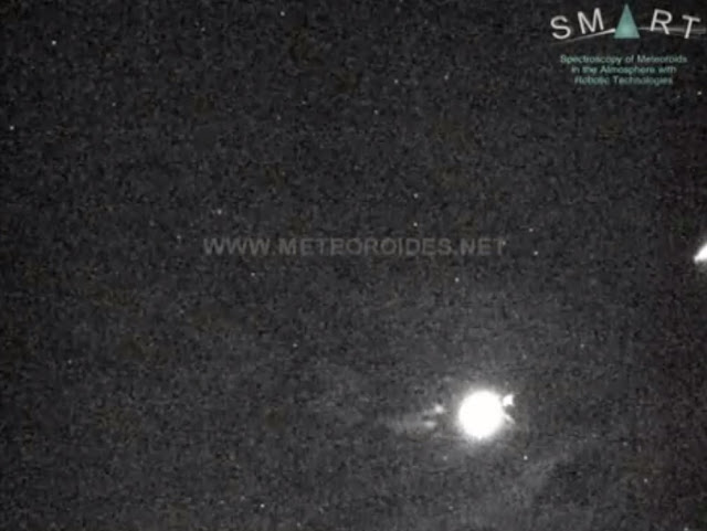 Bright Taurid fireball on Sept. 27 (at 20:47 UT)