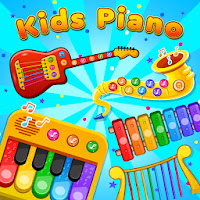 Kids Piano: Animal Sounds & musical Instruments icon