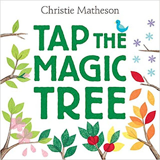 Tap the Magic Tree picture book