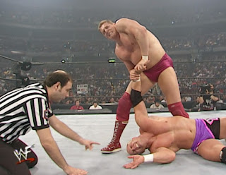 WWE / WWF Survivor Series 2000 - William Regal defended the European Championship against Hardcore Holly