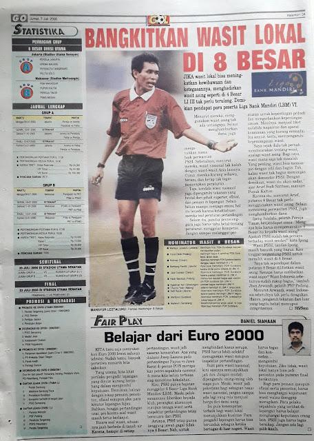 LIGA BANK MANDIRI 2000