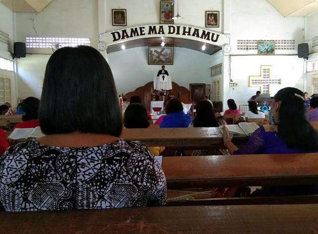 Tepatnya Dirumah Ibadah, Personel Jajaran Kodim 0207/Simalungun Turut Amankan Pelaksanaannya Digereja