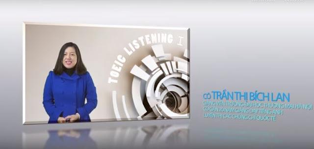 Khóa học toeic Listening 1 – khóa cơ bản khởi động
