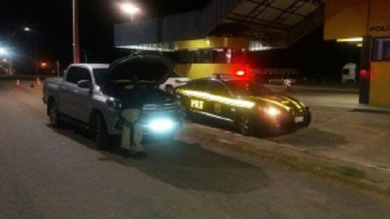Carro roubado no Rio Grande do Norte é apreendido pela PRF em Russas