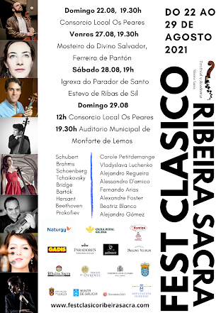 Enlace a la web del FEST CLASICO RIBEIRA SACRA