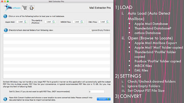 converting eml to pst