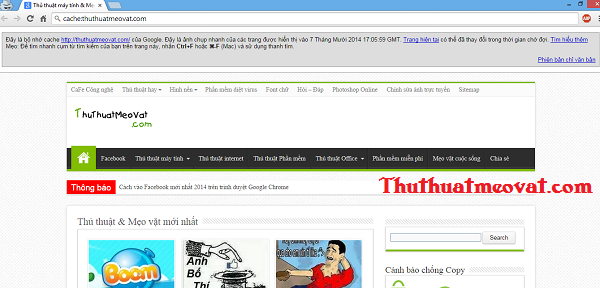 Thủ thuật Google Chrome hay