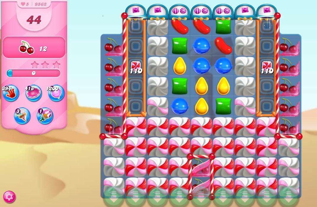 Candy Crush Saga level 9562
