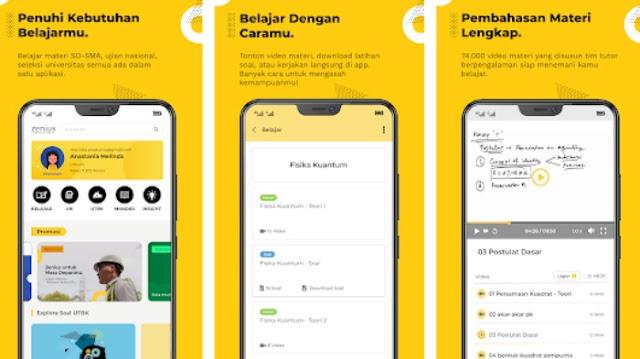 Aplikasi Bimbel Online No. 1 di Indonesia