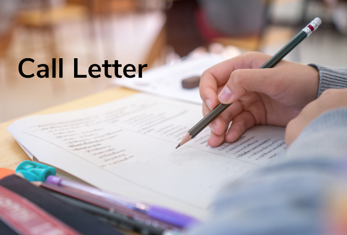 Latest Call letter for bank exams (IBPS SBI)