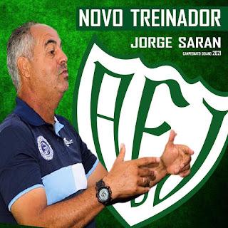 Jataiense já tem treinador para o Goianão 2021