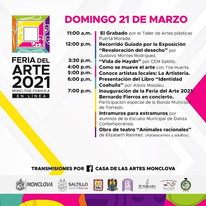 Feria del Arte Monclova 2021