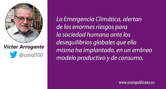 Cambio climático y el negacionismo interesado