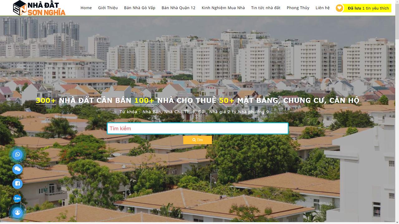 Nhà đất Sơn Nghĩa - Địa chỉ mua nhà gò vấp quận 12 đáng tin cậy Gioi-thieu-website-nhadatsonnghia.com