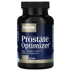 Jarrow Formulas, Prostate Optimizer, поддержка здоровья предстательной железы, 90 капсул