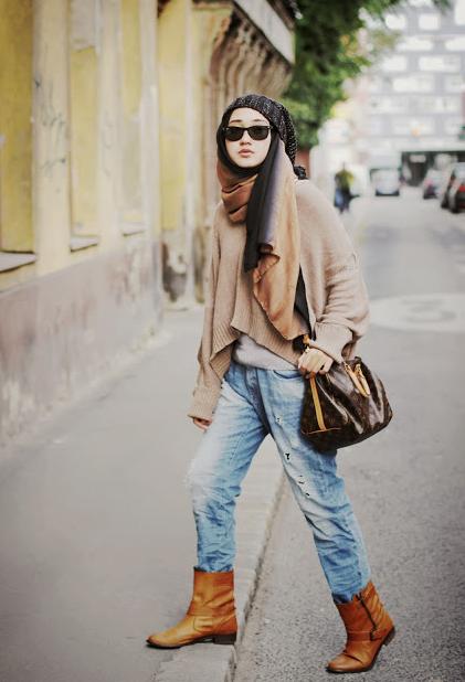 Aneka Model Hijab Modern Untuk Traveling