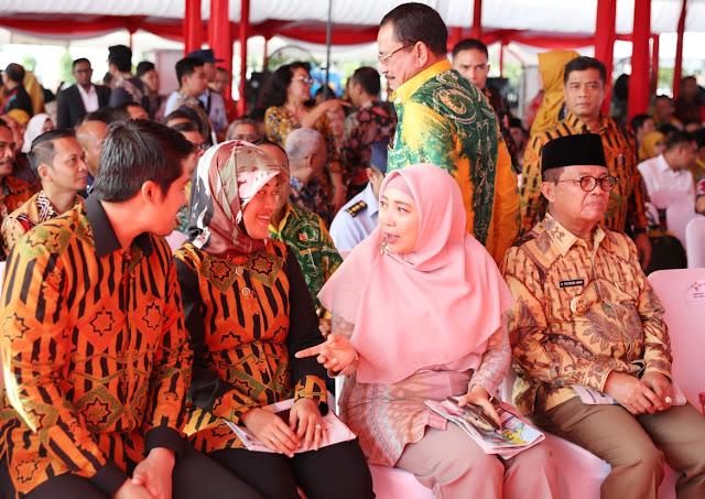 Kehadiran Wagub Nunik memberikan semangat tersendiri bagi kalangan pers khususnya Provinsi Lampung untuk semakin berjaya.