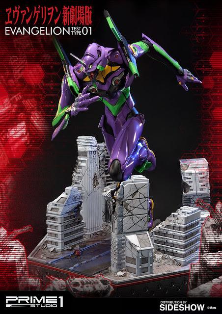 osw.zone Pre-Order EVA Test Type-01 Neon Genesis Evangelion 30-inch high statue of Prime 1 Studio