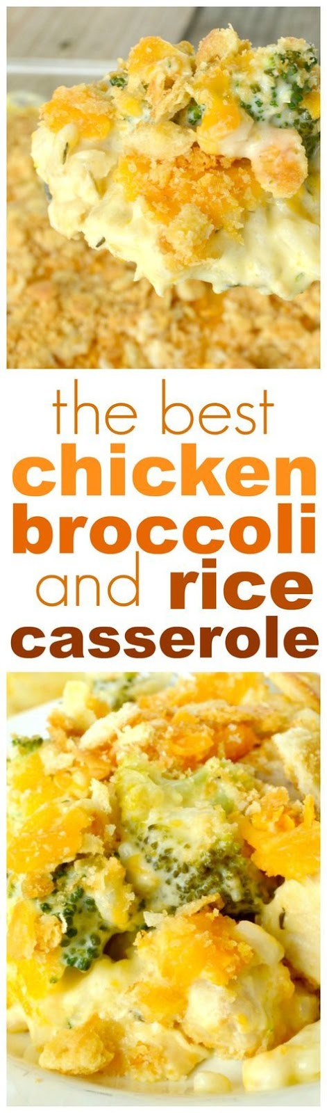 My family LOVE'S this Chicken Broccoli Rice Casserole! It's one of those dishes that is so perfect in its pure, wholesome, simplicity that they just can't get enough of it!
