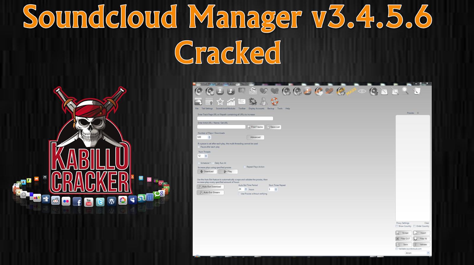 Soundcloud Manager v3 4 5 6 Cracked | silaing mah