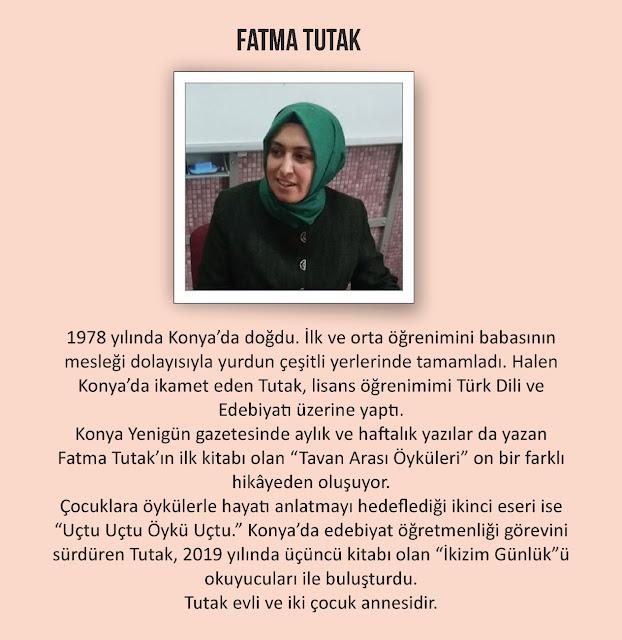 Yazar Fatma Tutak