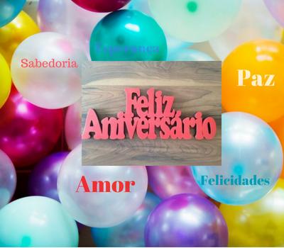 Feliz Aniversário com muita paz, amor, sabedoria e felicidade! Mensagens de Feliz Aniversário