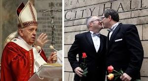 Dukung Legalitas Kaum Homo, Paus Fransiskus Sebut 'Mereka juga Anak Tuhan'