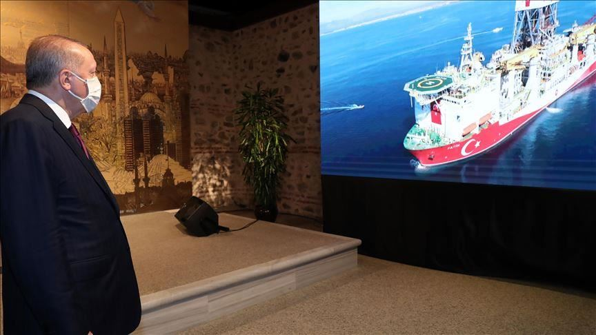 Erdogan Kembali Umumkan Penemuan Cadangan Gas Alam di Laut Hitam